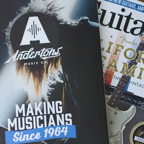 Andertons Music Co: Guitarist Magazine Advertising