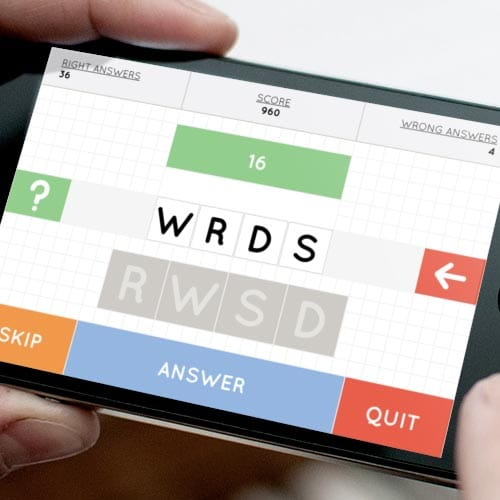 WRDS: iPhone Game
