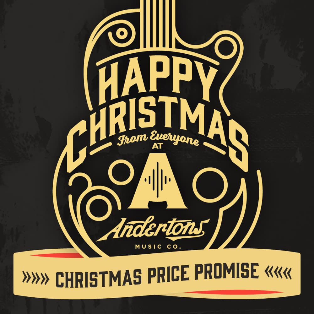 Andertons Music Co: Infographics & Illustrations - Christmas 2017