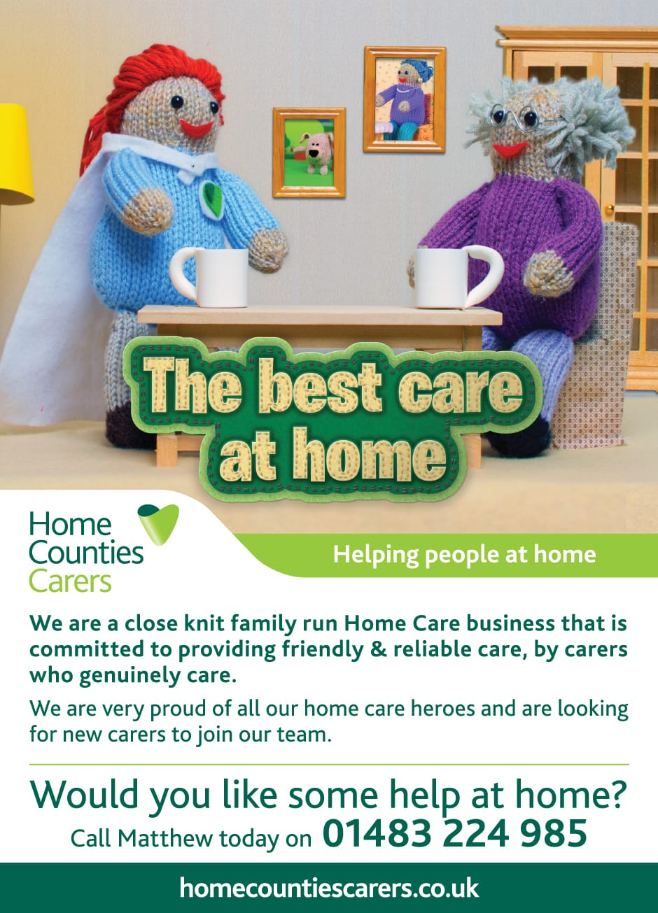 Home Counties Carers: Advertising - Home Counties Carers