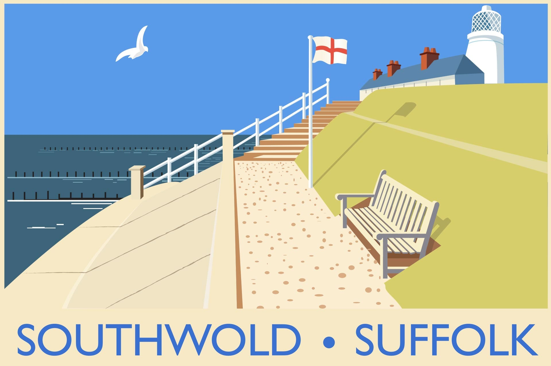 Illustration: People & Places - Southwold