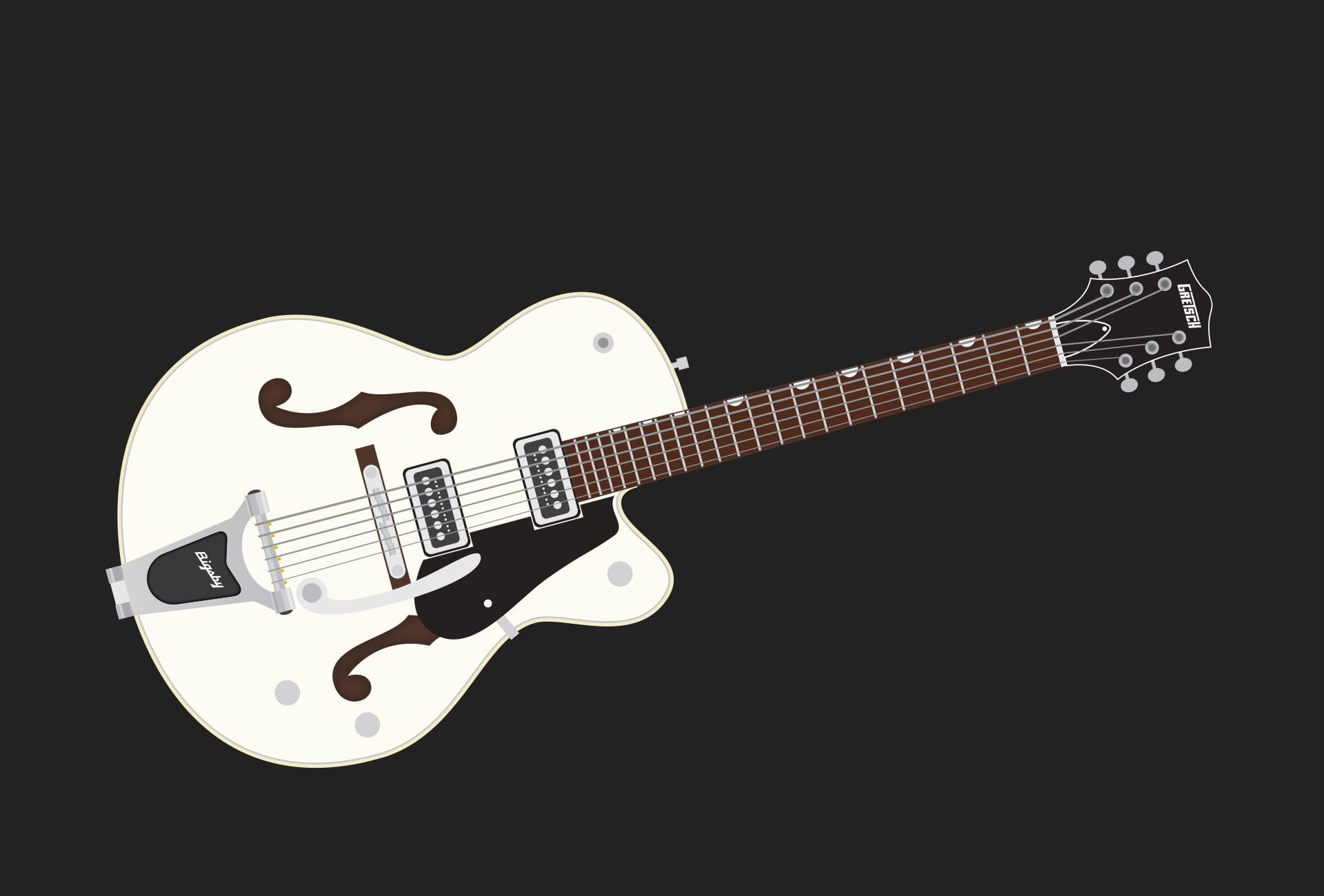 Illustrations - Gretsch Electromatic