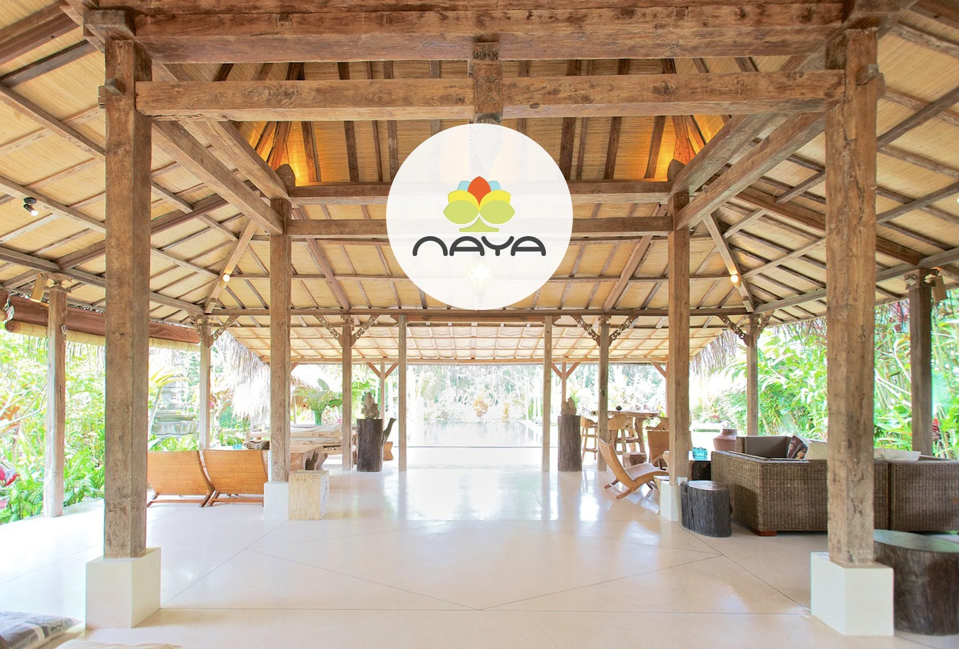 NAYA: Branding & Website - Homepage