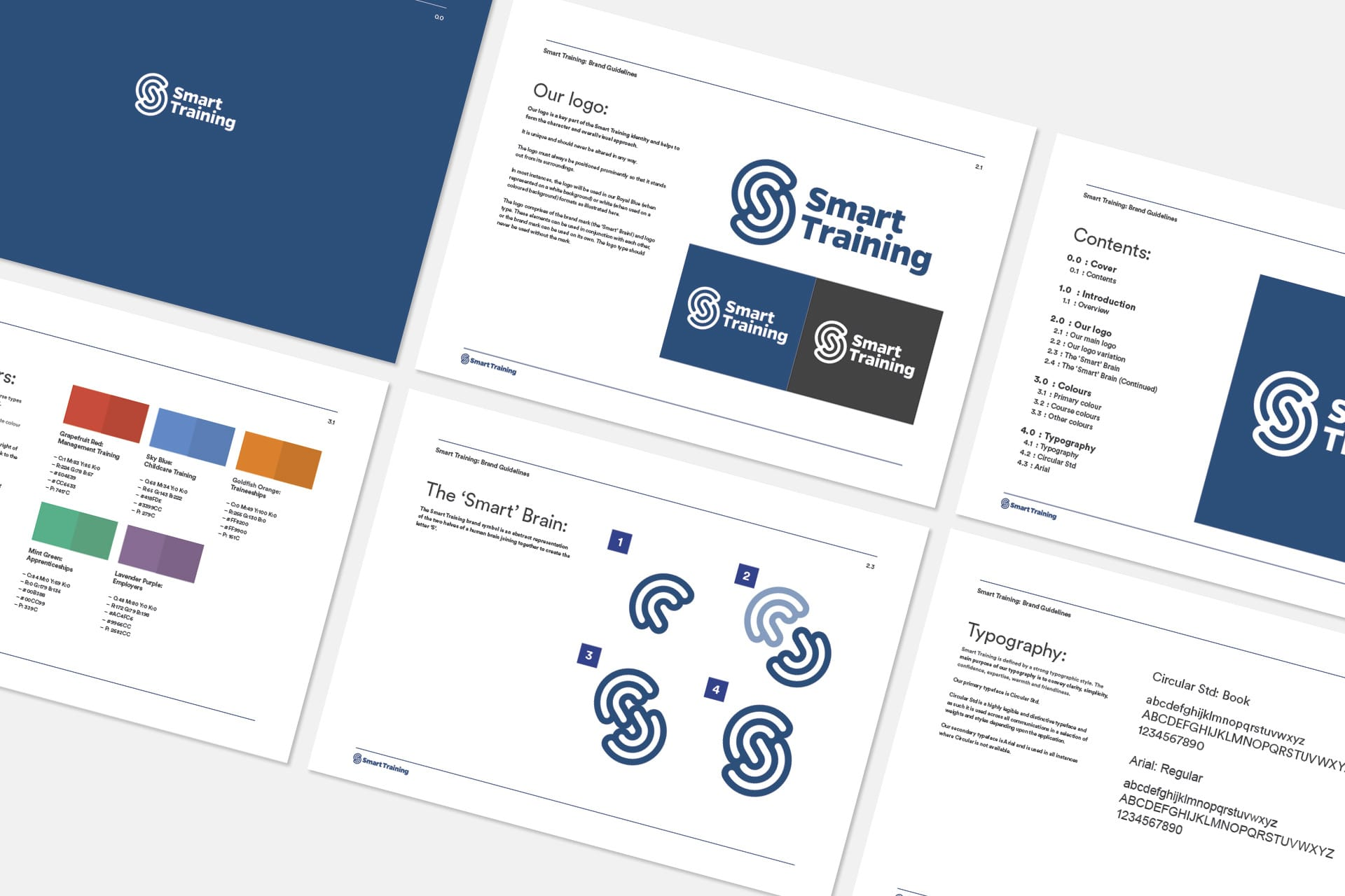 Smart Training: Branding & Website - Brand Guidelines