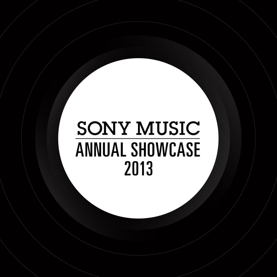 Sony Music: Annual Showcase - Signage